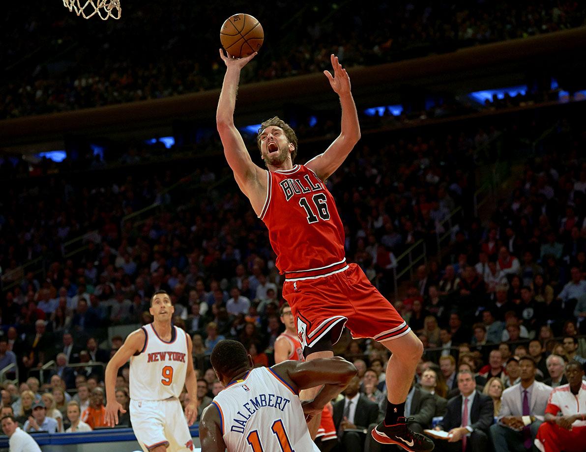 Bulls | Forward | Last year: 49
