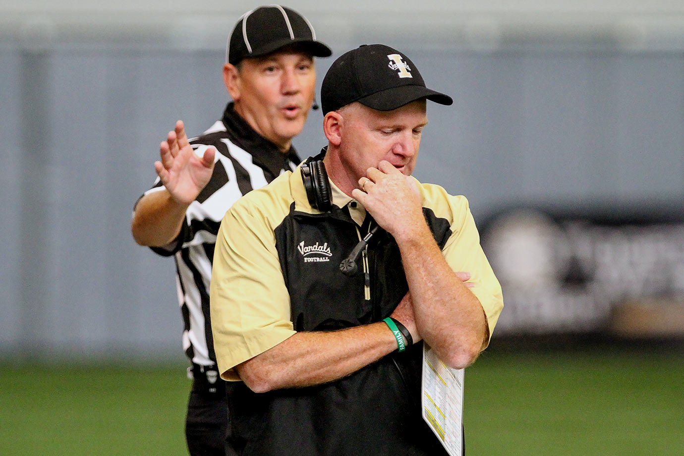 Idaho football coach Paul Petrino, the brother of motorcycle enthusiast Bobby Petrino, is having a pretty good season on the field. He got the Vandals to 3–8 through mid-November, after winning just one game in each of the last two seasons. But he lands a spot on this list after angrily confronting a reporter who criticized him.