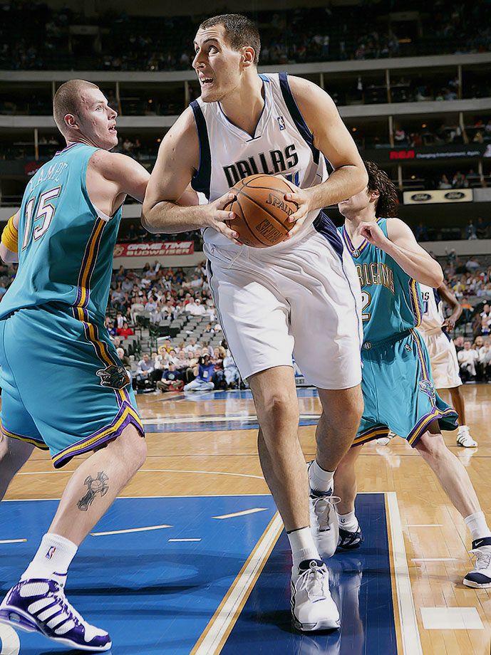 Drafted 21st overall in 2004 by Utah and immediately traded to Dallas, Podkolzin was waived by the Mavericks after appearing briefly in just six games spanning two seasons.
