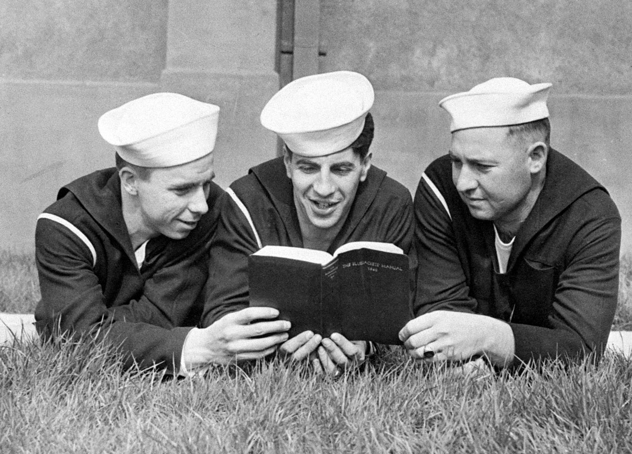 Reese, Rizzuto and Casey served three years in the Navy, from 1943 to '45, and saw combat in the Pacific Theater. Reese, most known for his support of and friendship with Jackie Robinson, was inducted into the Hall of Fame in 1984 on a vote from the Veterans' Committee.  Rizzuto was inducted in '94.