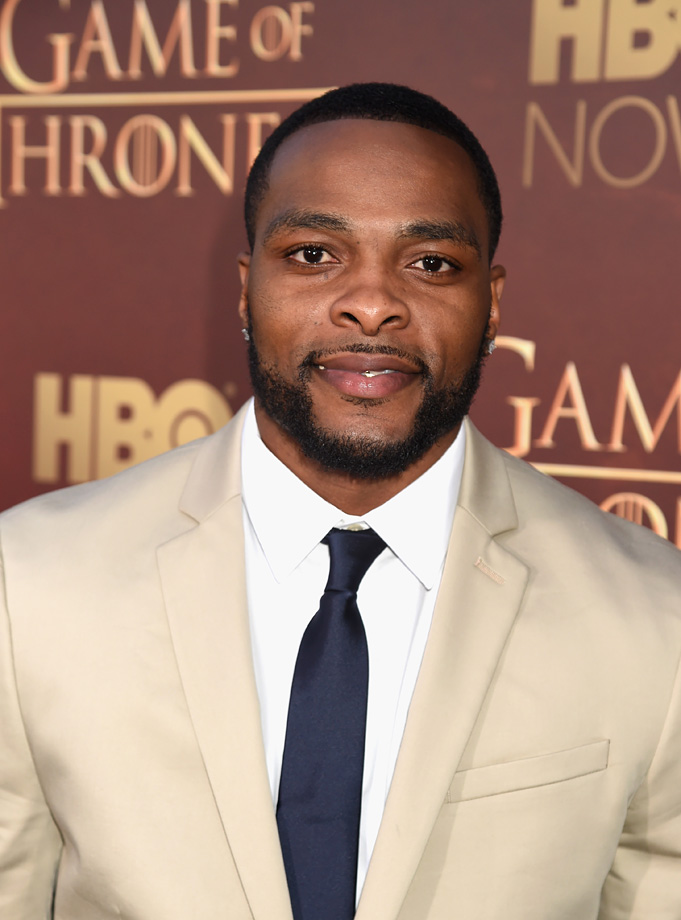 "Tennessee Titans cornerback/return specialist Perrish Cox attends the ""Game of Thrones"" Season 5 Premiere and After Party at the San Francisco Opera House on March 23, 2015 in San Francisco."
