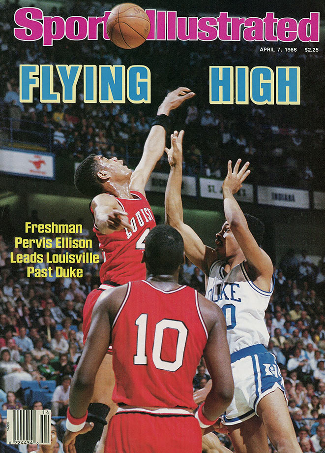 "Ellison lived up to his ""Never Nervous Pervis"" nickname by leading the Cardinals to the 1980 NCAA championship. He had 25 points and 11 rebounds in the final win over Duke, becoming the first freshman in tournament history to be named the Final Four's Most Outstanding Player. Ellison averaged 13.1 points and 8.2 rebounds that season. Ellison also scored 70 points in three during the 1988 NCAA tournament, and was named first team All-America in 1988-89 when he averaged 17.6 points and 8.7 rebounds."