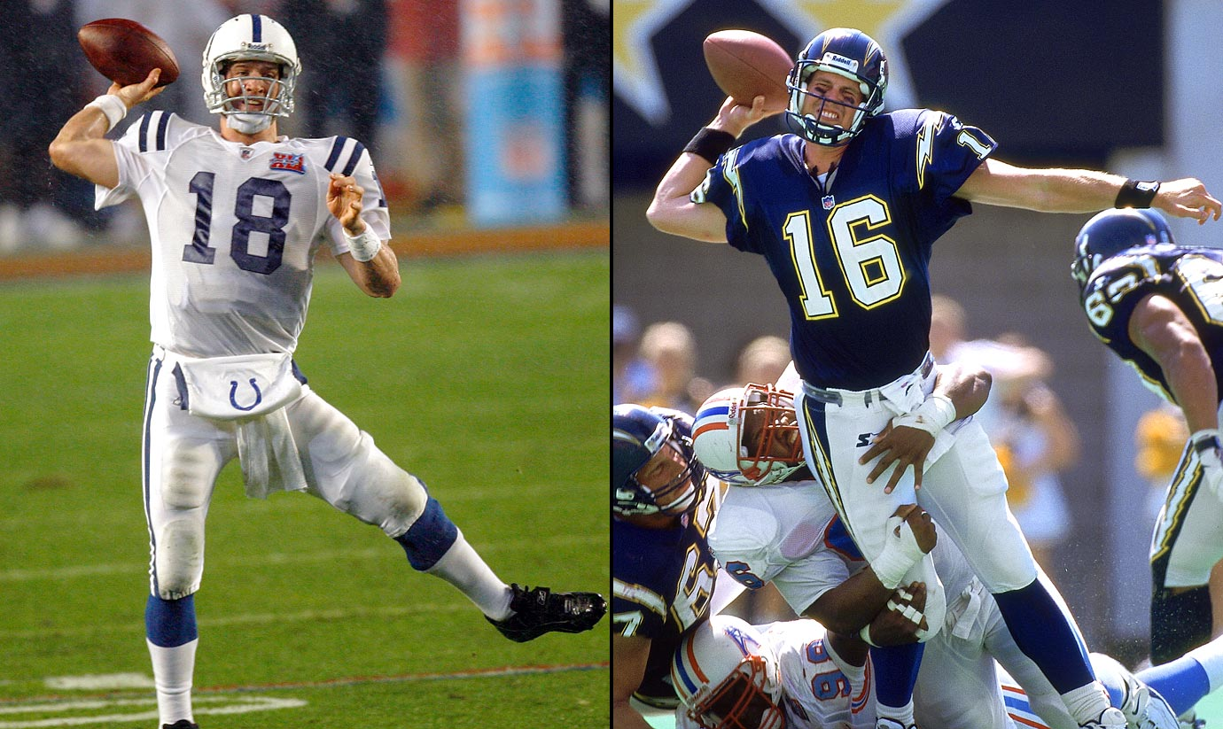 1998: 1—Peyton Manning (Indianapolis Colts), 2—Ryan Leaf (San Diego Chargers)