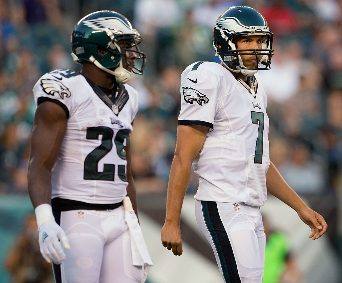The Eagles have a mad genius at the helm in Head Coach Chip Kelly, but they also have new starters at quarterback, running back and wide receiver. Take THAT continuity! What are the odds that QB Sam Bradford invents a new ligament to tear in his knee, just to spite fantasy owners?