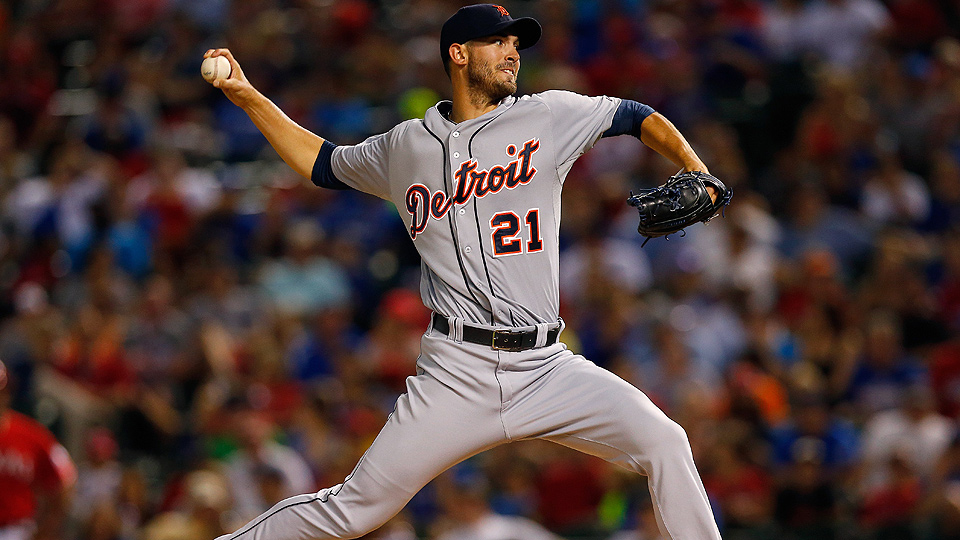 Rick Porcello earned his 10th win of the season on Thursday, giving him double-digit win totals in each of his six Major League seasons.