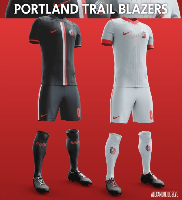 Portland Trail Blazers Reddit: NBA Soccer Jerseys Showcase Each Team