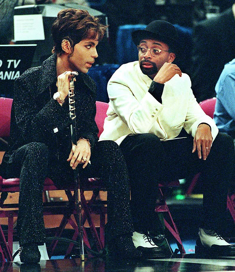 A look back at celebrities who have attended NBA All-Star games over the years.
