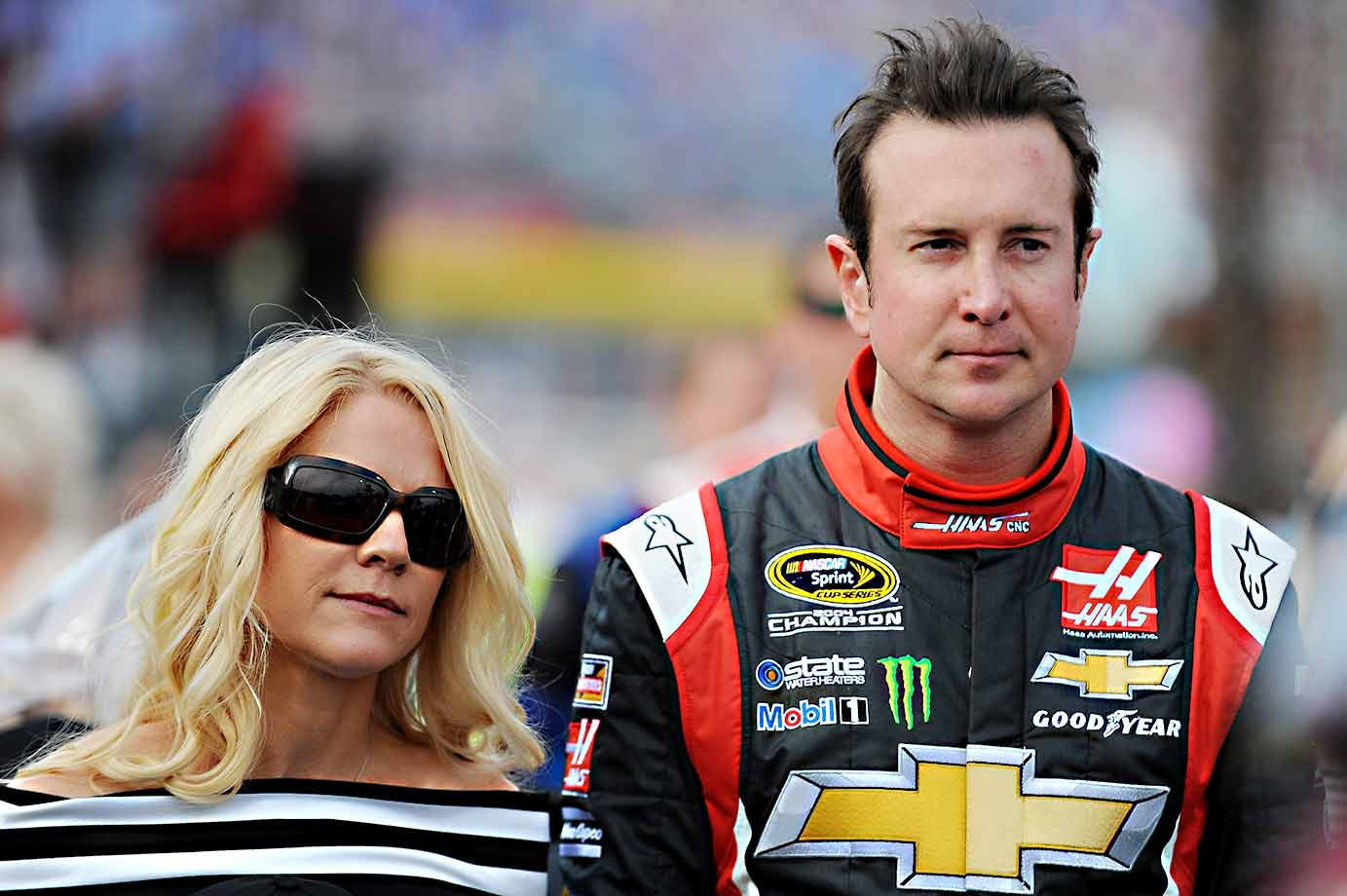 Just before the end of the 2014 season, the 2004 Sprint Cup champion was accused of assaulting his ex-girlfriend, Patricia Driscoll, during a fall race weekend in Dover, Del. A month later she petitioned a family court there for a restraining order against him, saying he attacked her inside his motor home. A hearing that should've taken an hour or so devolved into a four-part trial that spanned two months and played out like a reboot of War of the Roses. In the end Driscoll got her restraining order (and kept it on appeal) while Busch was suspended for the first three races of the season. Upon returning, he won three races and hung in the '15 championship hunt until the penultimate race of the season at Phoenix.