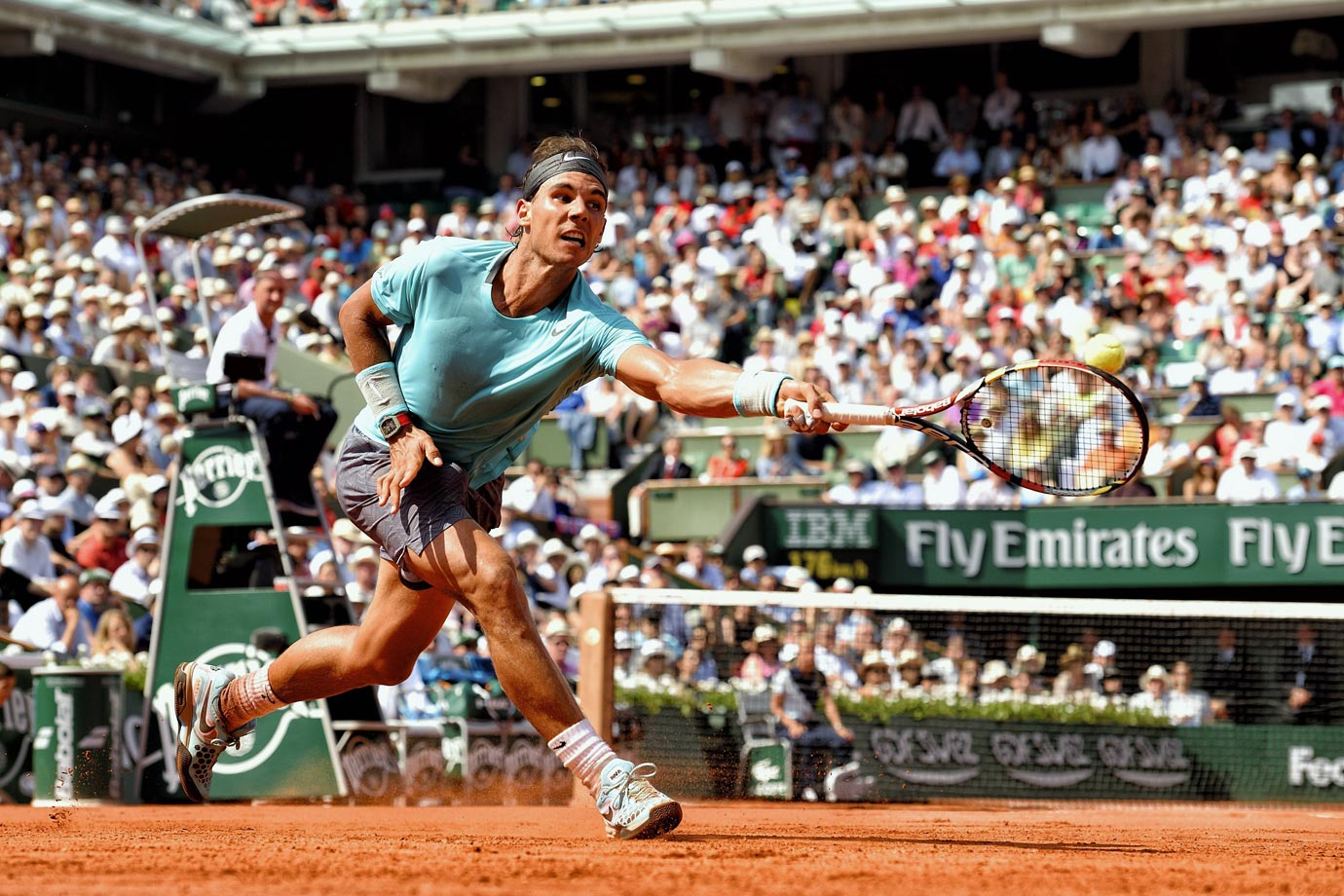 "Perhaps the greatest tennis players of his era and certainly one of the best of all-time, Rafael Nadal has excelled on basically every playing surface. But on clay, he's unstoppable. Nadal has won eight of the last nine French Open titles, earning himself the nickname the ""King of Clay."""