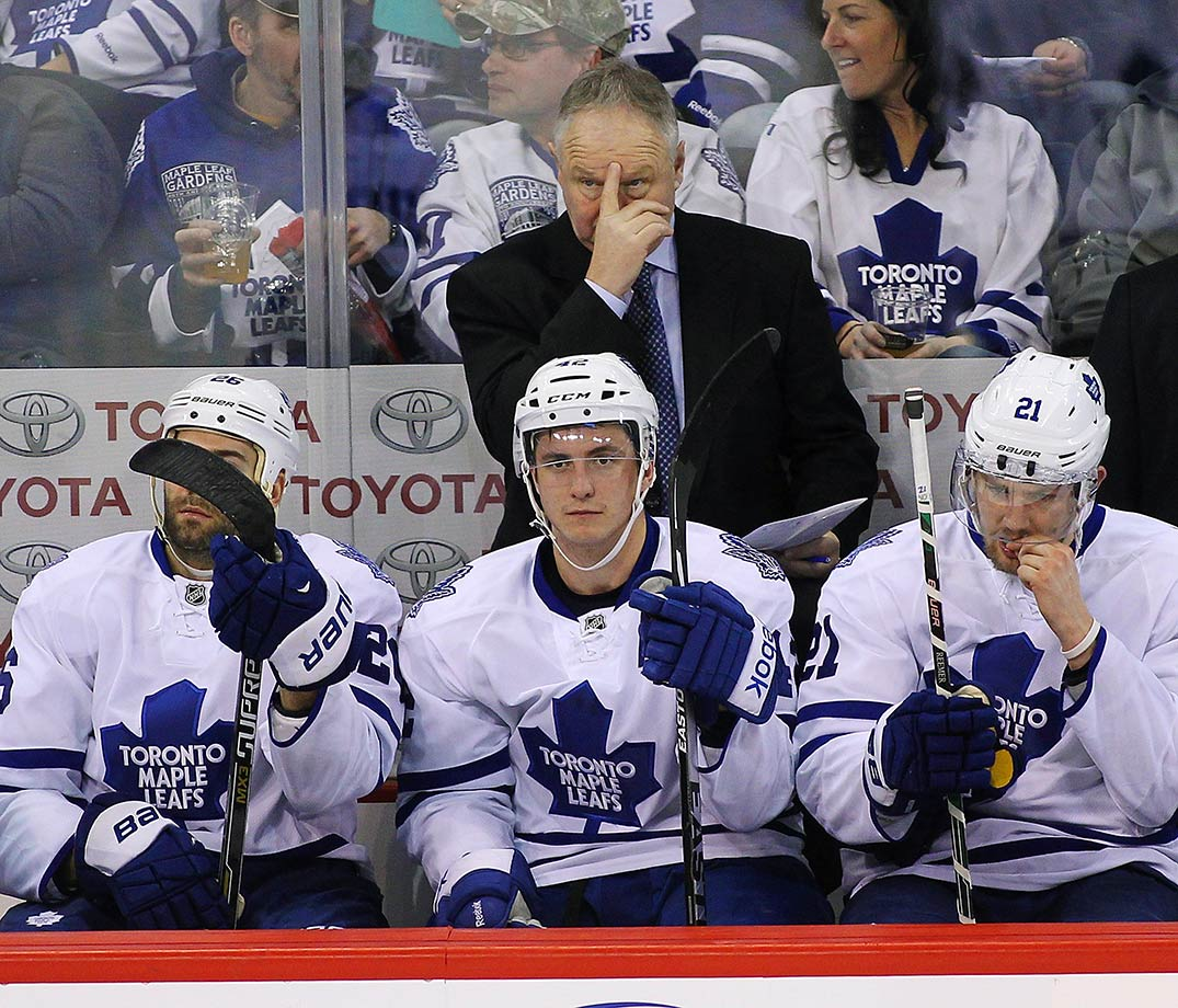 Randy Carlyle was coach of the Toronto Maple Leafs, one of the most demanding and public positions in all of sports. After a couple mediocre seasons he was given the boot in the midst of a disappointing 2015 campaign.