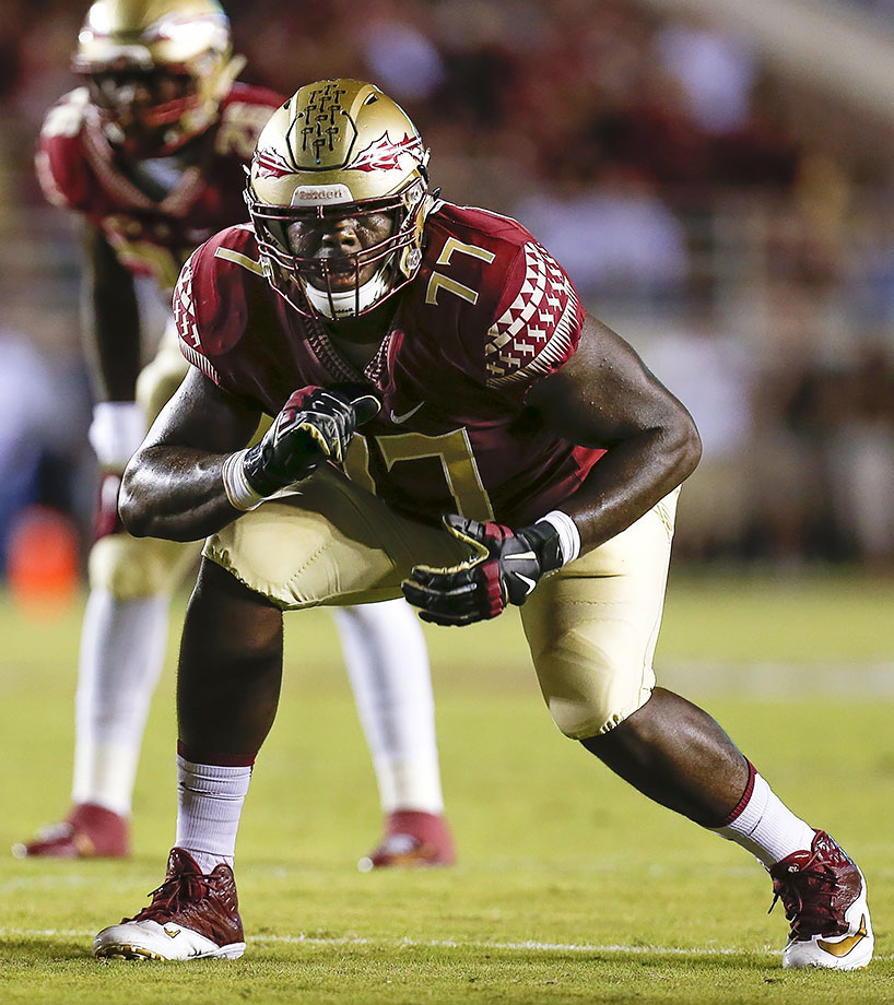 "Florida State's 6'7"", 323-pound behemoth of a left tackle started every game in 2015 and won the ACC's award as the conference's best blocker. The preseason All-America selection will clear running lanes for Dalvin Cook again in 2016."