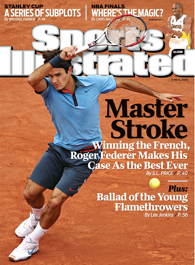 With a victory against surprise finalist Robin Soderling (who had stunned Rafael Nadal in the fourth round), Federer won his first title at Roland Garros, tied Pete Sampras' record of 14 major championships and became the sixth man to complete the career Grand Slam.