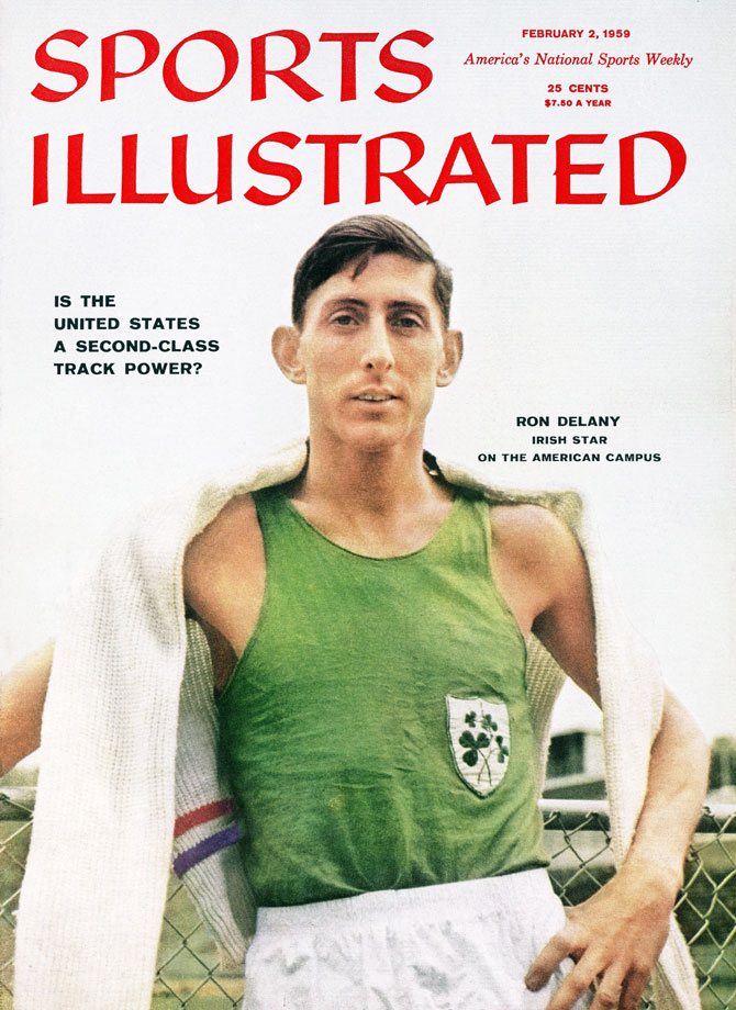 The first Irish-born athlete on this list, Delany became an Olympic hero for his nation in 1956. After struggling to make the national team for the Melbourne Summer Olympics, Delany won the country's first gold medal since 1932, winning the 1500 meters. Delany upset the heavily favored Australian John Landy, keeping with Landy before pulling ahead on the final lap to set an Olympic record. Delaney's gold was Ireland's last until Michael Carruth topped the podium in boxing in 1992.