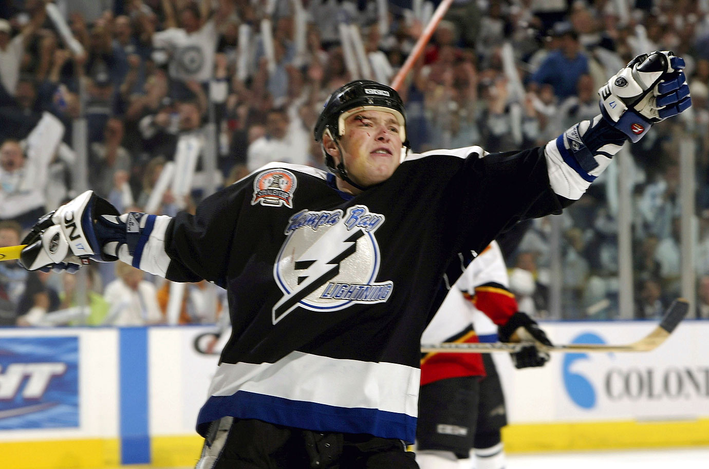 The Ukrainian winger spent only four seasons (2002-07) with the Bolts after being traded to Tampa Bay by Philadelphia but he earned his place in franchise lore by scoring a game-winner against Philadelphia in the Eastern Conference finals and the only goals in Tampa Bay's 2-0 Game 7 win over Calgary in the 2004 Stanley Cup finals.