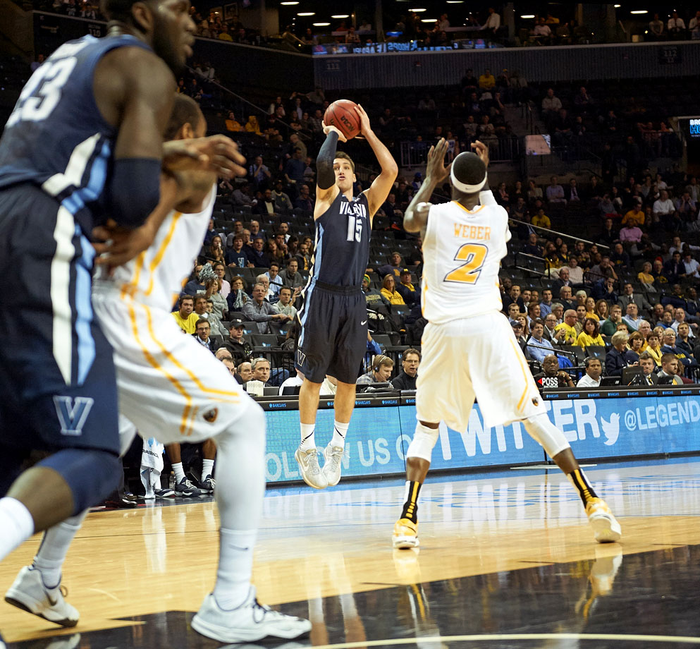 "Arcidiacono, the co-Big East player of the year, has helped Villanova become a serious championship contender. The 6'3"" guard isn't afraid to let it fly from the three-point line, attempting over four a game and converting at a 37 percent rate. His shooting could swing a game or two in Villanova's favor during the tournament."