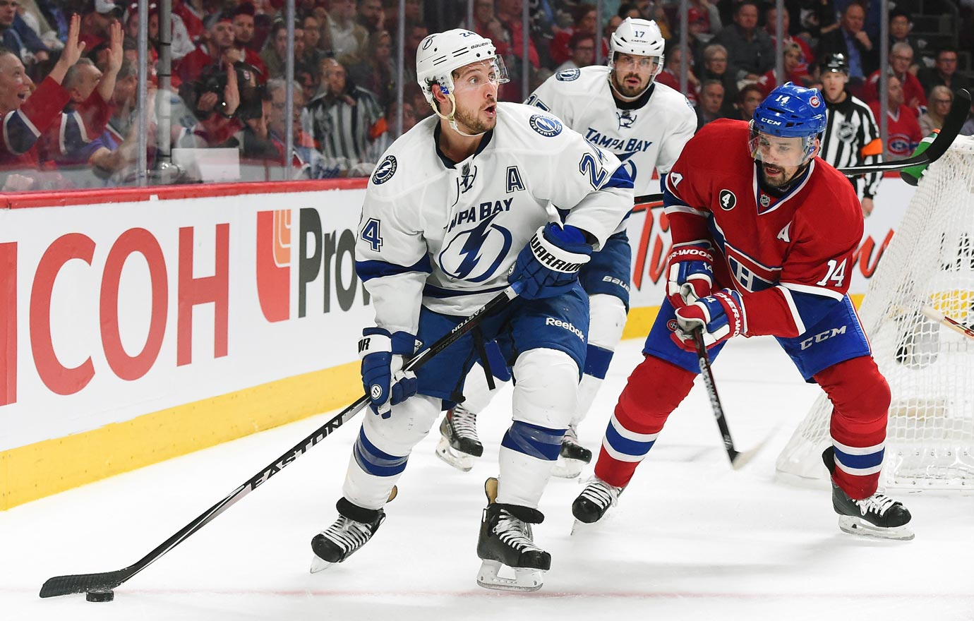 On the eve of Game 6 of their second round series vs. Montreal, the Lightning's alternate captain was unable to practice due to abdominal pain. He was taken to Tampa General Hospital where he was diagnosed with acute appendicitis. After surgery he was expected to be sidelined indefinitely.