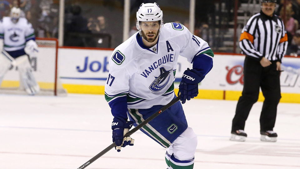 Months after requesting a trade, Ryan Kesler found himself shipped out of Vancouver on draft day.