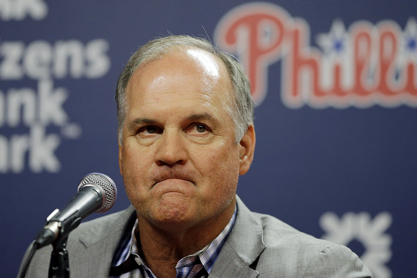 Ryne Sandberg stepped down from being the Phillies manager in the early parts of the 2015 season, probably because working for the Phillies has been the most depressing job in sports lately.