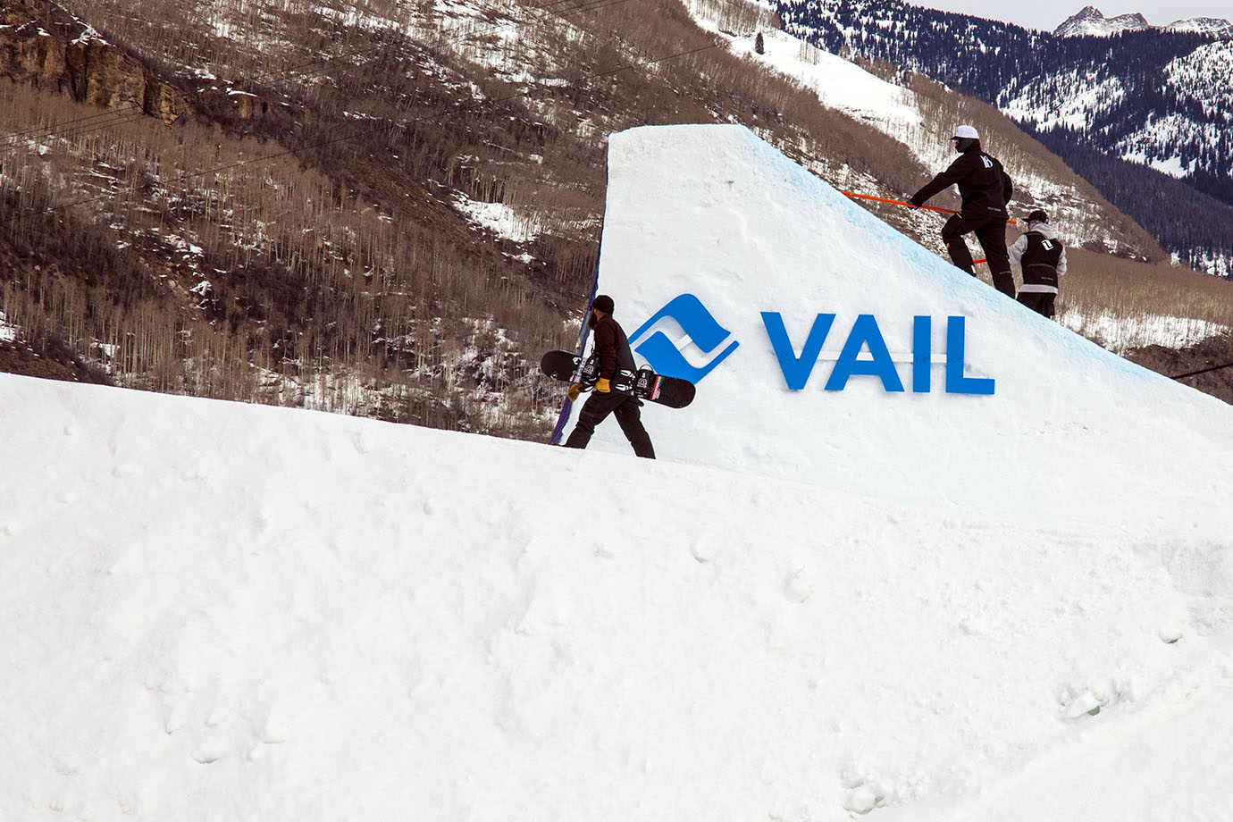 The second of three jumps of the Burton U.S. Open Slopestyle course bears the name of the world famous ski town that has hosted the annual event since it moved to Colorado from Vermont.
