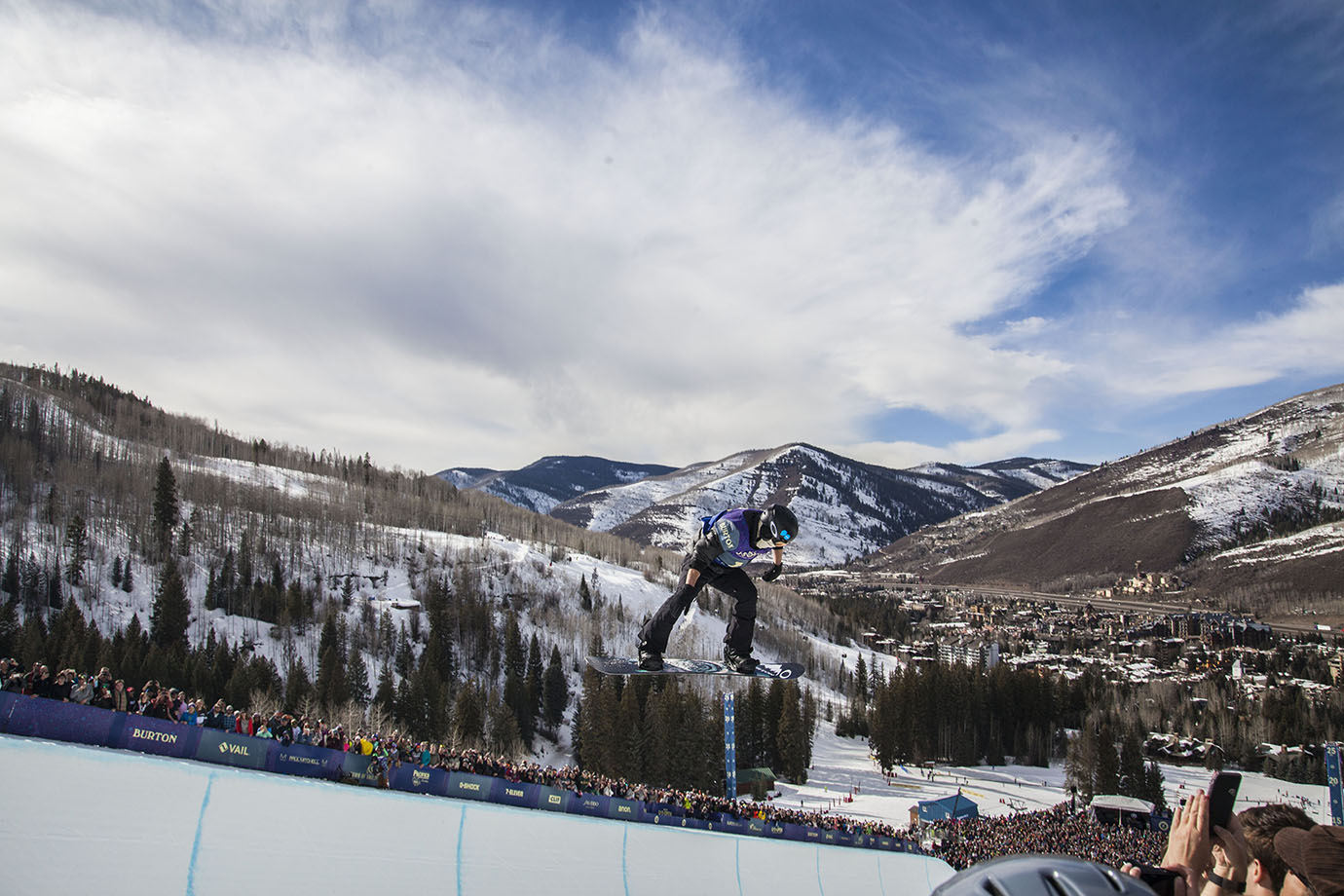 Shaun White puts the finishing touches on the 2016 Burton U.S. Open. His final run, a victory lap like Jamie Anderson's and Chloe Kim's, is the final competitive act of the weekend.