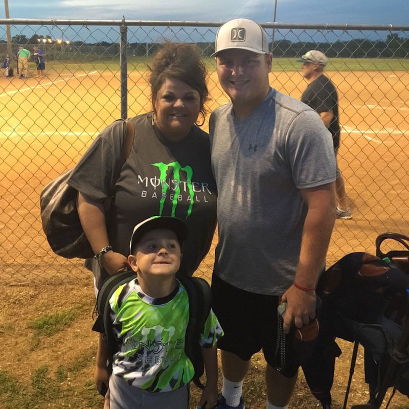 @sportsillustrated .. Love my ball playin boys!!! My #15's first game back from broken collar bone and got his 1st HOMERUN!!! #keepgoodgoing #monsterbaseball