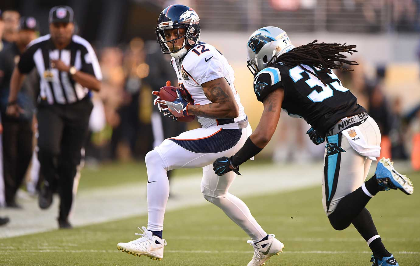 Andre Caldwell was one of five Broncos to make a catch in a game that featured no receiving touchdown.