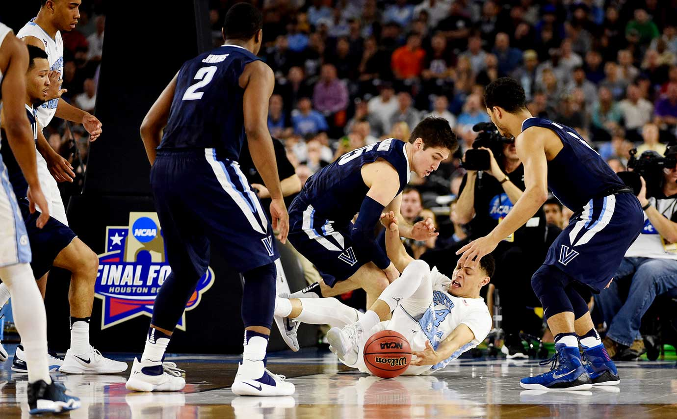 North Carolina had 11 turnovers to Villanova's 10.
