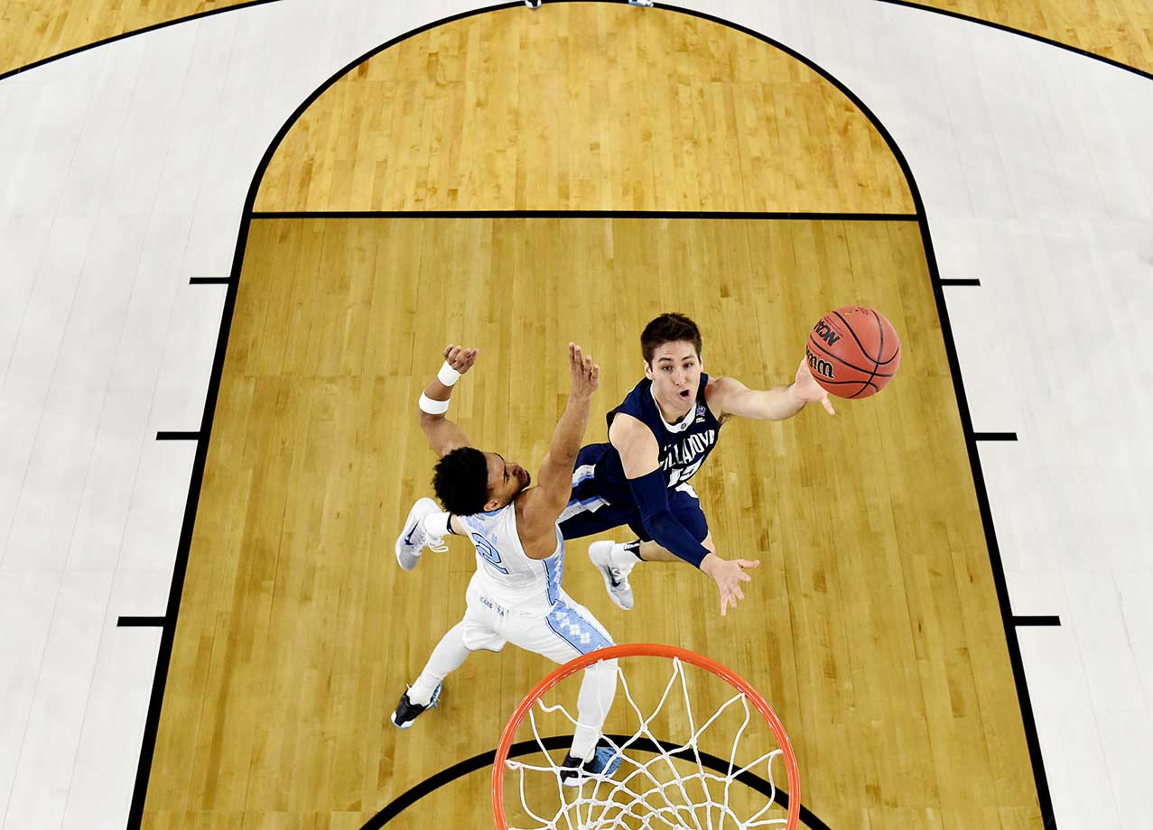 Senior Ryan Arciadiacono had the hot hand early and late for Villanova, but he'll forever be remembered for the shot he didn't take in favor of passing to ball Kris Jenkins.