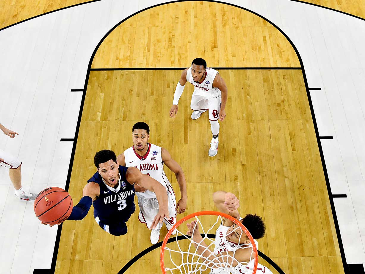 Josh Hart and the Villanova Wildcats defeated Oklahoma by 44 points, the biggest margin of victory ever in a Final Four.