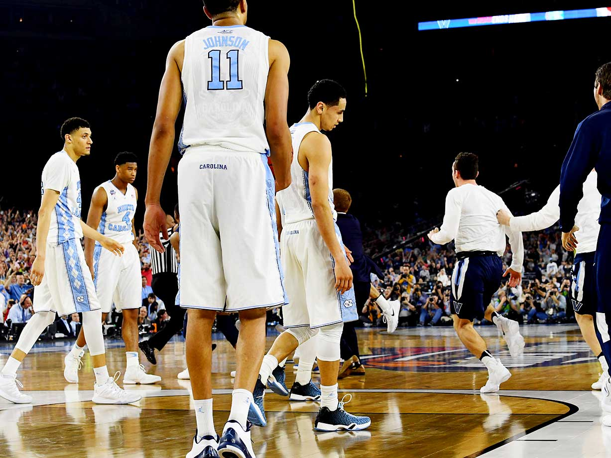The lone No. 1 seed in the Final Four, Carolina saw its season end in defeat.
