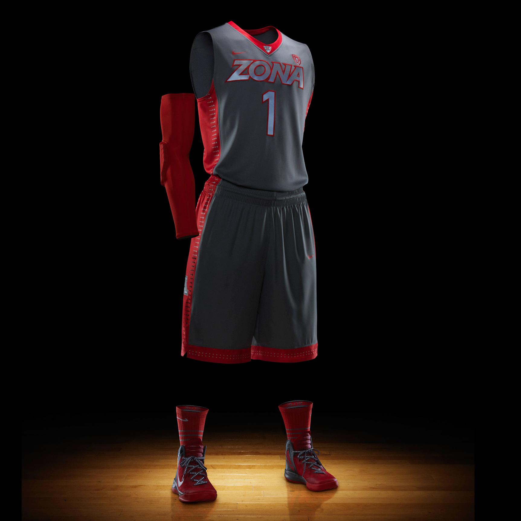 The evolution of Nike's college basketball uniforms | SI.com