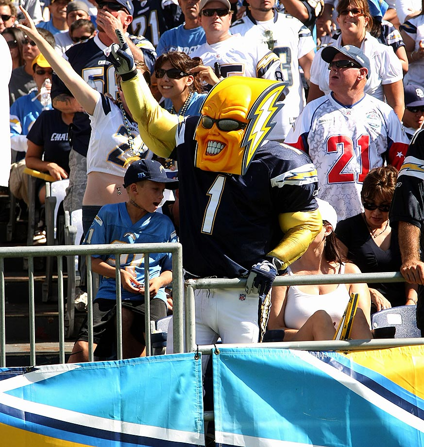 San Diego Chargers Bolt Up: Ranking The NFL's Mascots