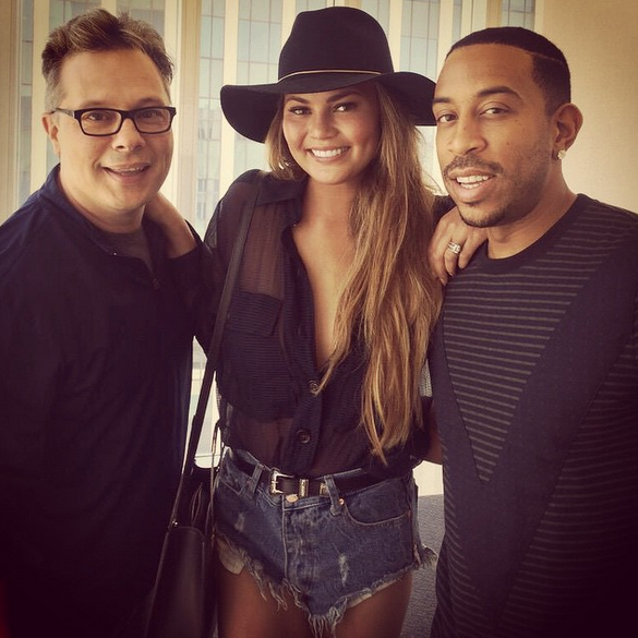 Scheming for @OfficialBBMAs awards with @Ludacris and @DeatonRobert!!