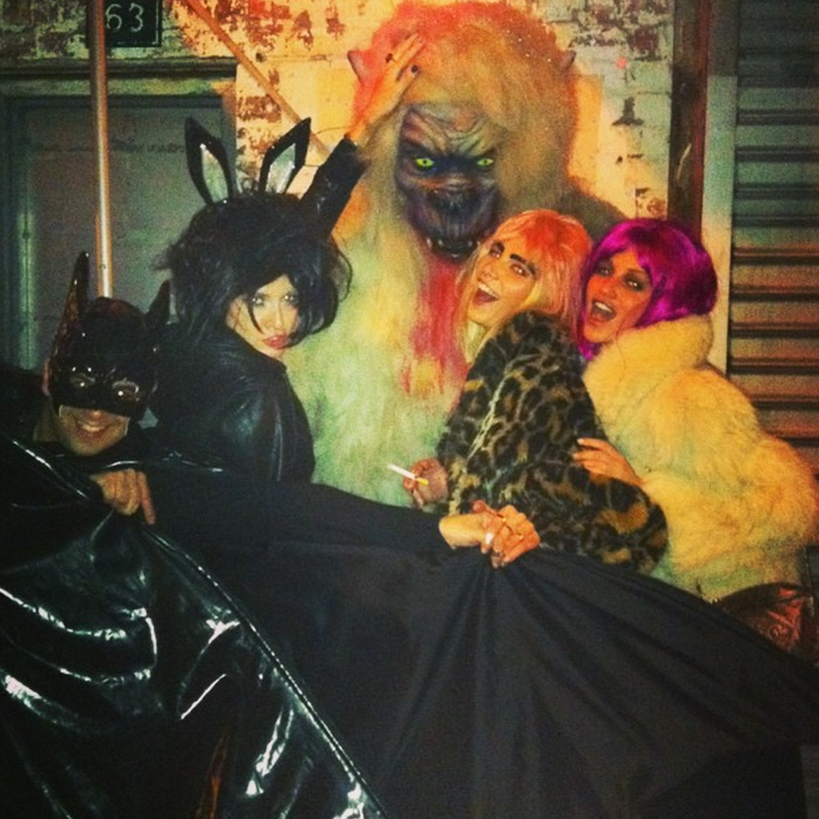 #TBT best helloween ever! NYC-2011 @helder_marques @adricaye @alineweber_real #queriaestarla #chatiada