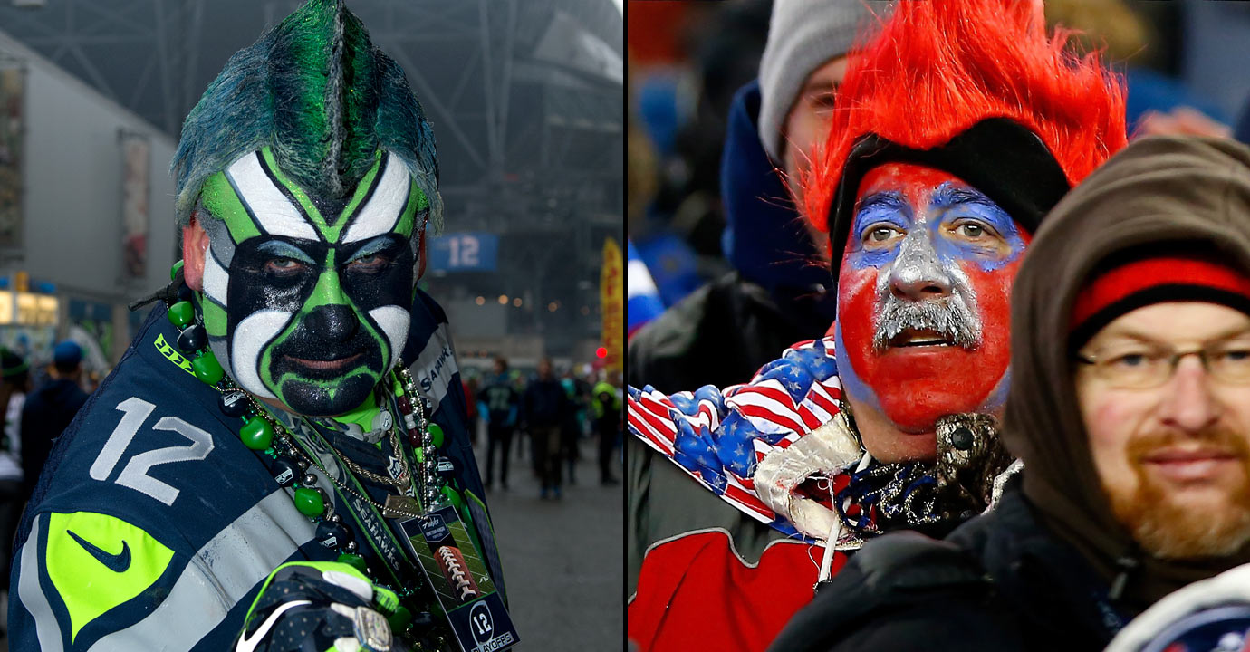 Fan Showdown: Seahawks vs. Patriots   SI.com
