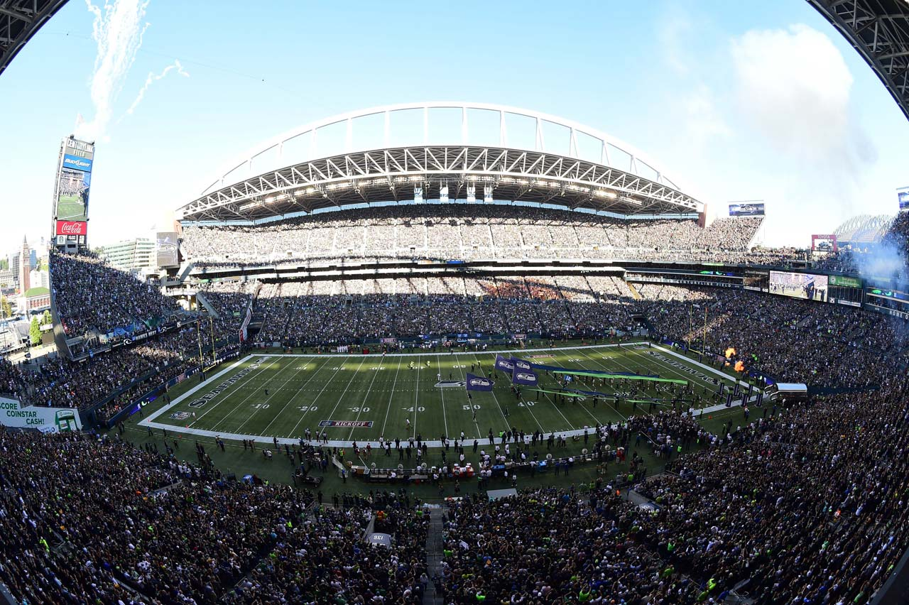 The Seahawks enjoyed another sold out stadium.