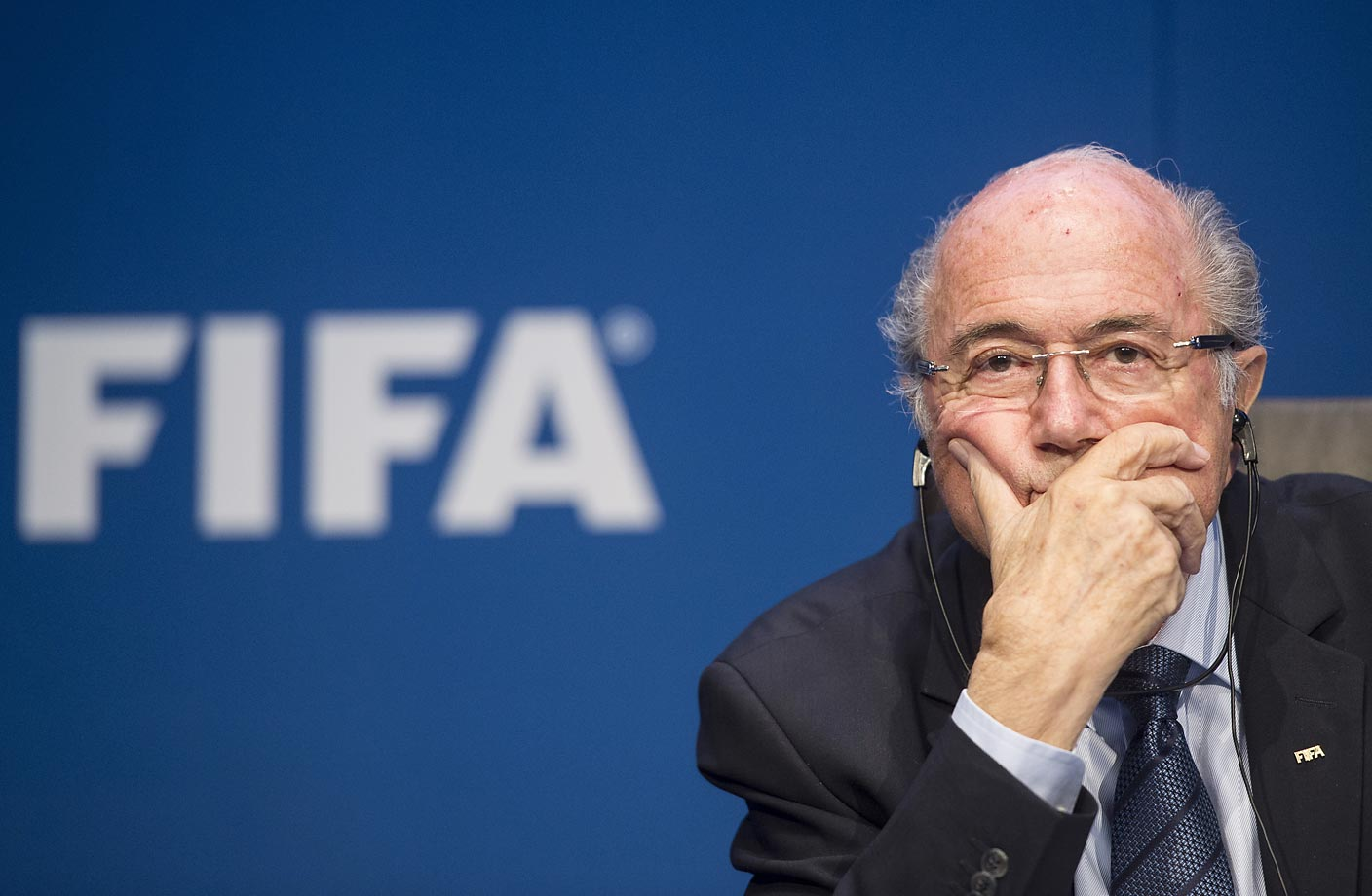 FIFA president Sepp Blatter make the shocking announcement on May 2 that he would resign his position, this after 14 FIFA executives were arrested the week before for their role in a corruption scandal.