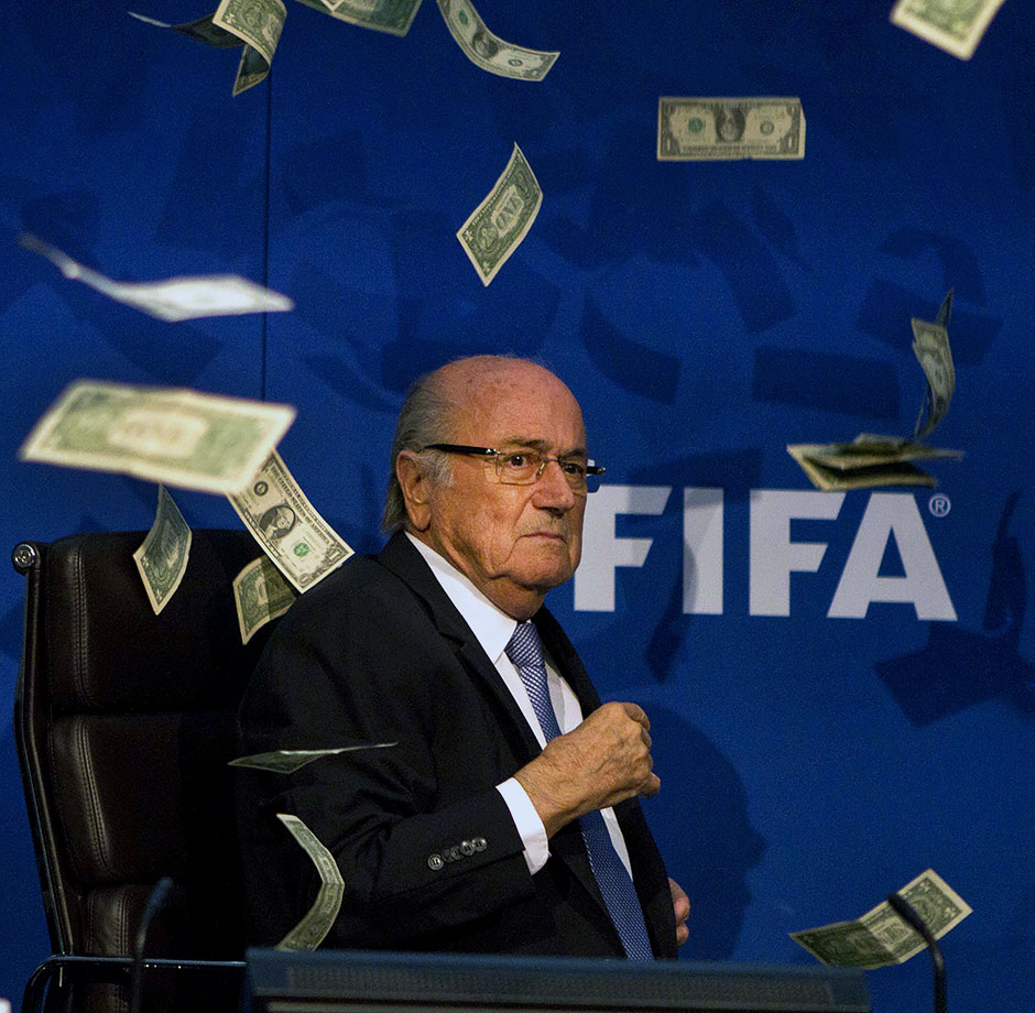 Blatter spent decades avoiding the scrutiny of law enforcement but FIFA's filthy corruption finally caught up to him in 2015.