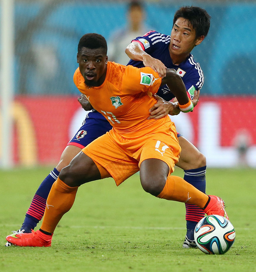 In a disappointing campaign for Ivory Coast the one saving grace was the right back, Aurier. Only 21, he proved himself good in the air, averaged 2.7 tackles per game and got forward to set up both Ivorian goals against Japan. If only he'd been born a decade earlier to peak with the nation's golden generation.