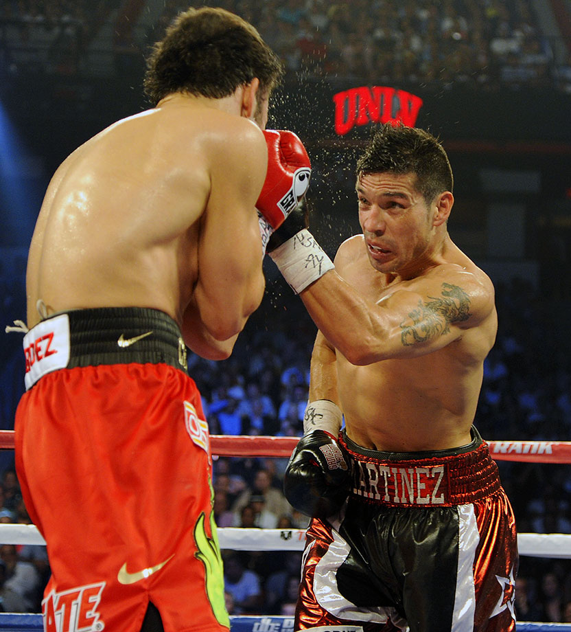 Former middleweight world champion Sergio Martinez announced his retirement at boxing's Hall of Fame weekend in June 2015. He amassed a 51-3-2 record with 28 knockouts over his career, with six successful title defenses between 2010 and 2013.