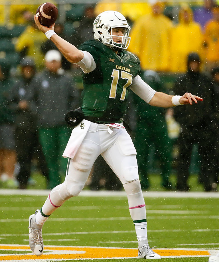Before a neck fracture brought his 2015 season to a premature end, Russell had Baylor heading toward a possible College Football Playoff berth. With Jarrett Stidham's transfer, the Bears need Russell to stay healthy and return to peak form.