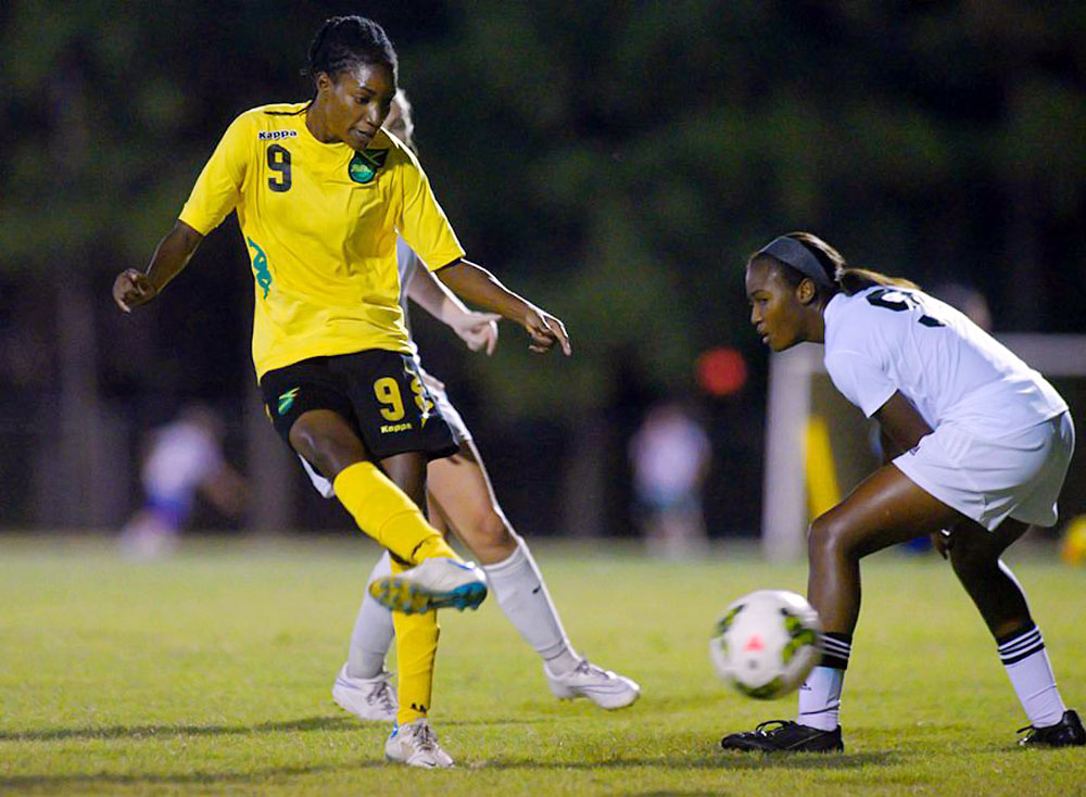 Another West Florida connection on the Jamaican squad and the team's go-to goalscorer, Duncan played for the Argos after transferring from Darton State College. She was the Ron Lenz National Player of the Year both seasons after scoring a program-record 33 goals and 13 assists in 2009, following up with another 31 goals and 12 assists in 2010.