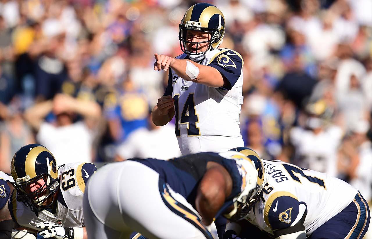 Old team: Rams; New team: Vikings
