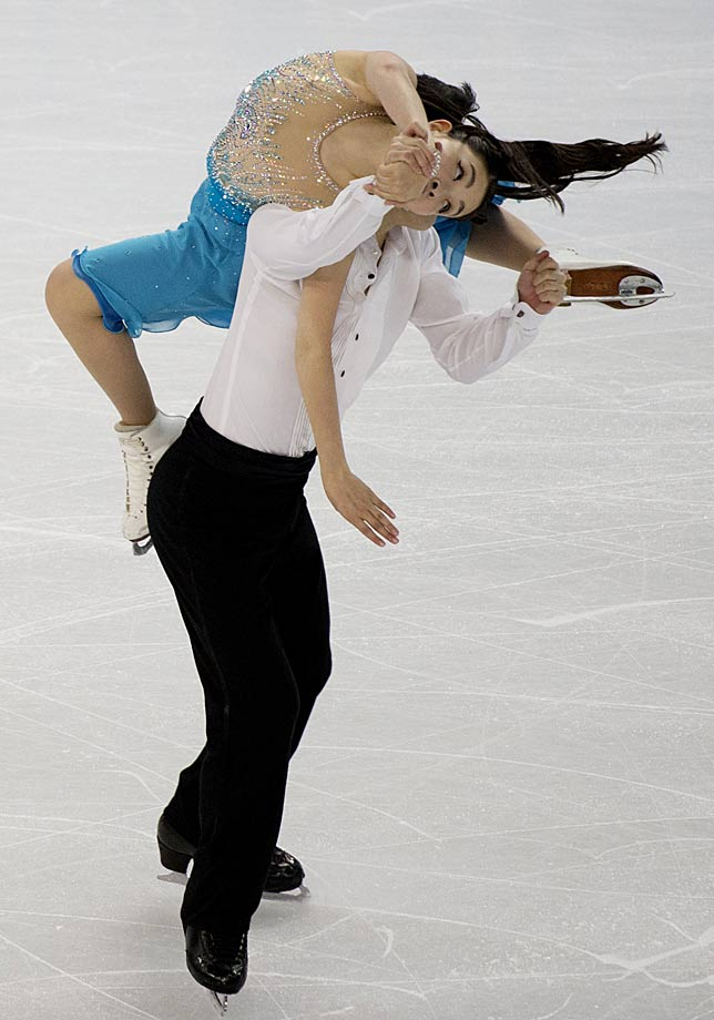 Maia Shubutani and Alex Shibutani of the U.S.