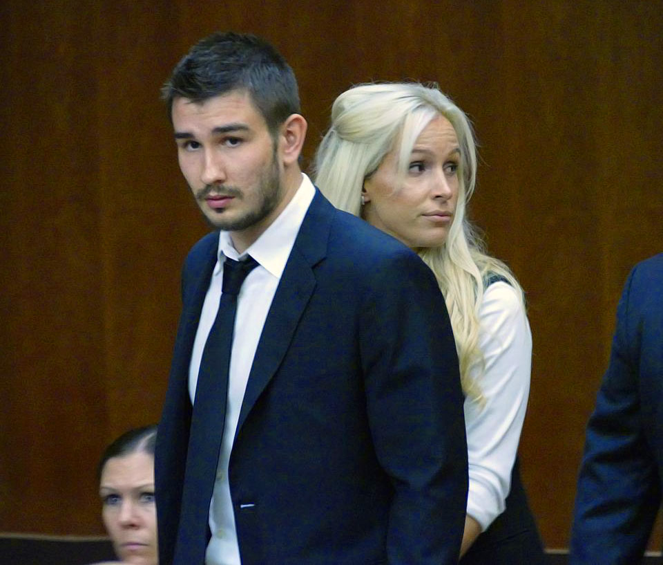 "The Kings defenseman was charged with a felony count of corporal injury to spouse with great bodily injury after assaulting his wife on Oct. 19, 2014. He was suspended indefinitely by the team and pleaded not guilty, later accepting a ""no contest"" plea deal that carried a jail term of 90 days and possible deportation to his native Russia. Voynov voluntarily left the U.S., effectively ending his NHL career."