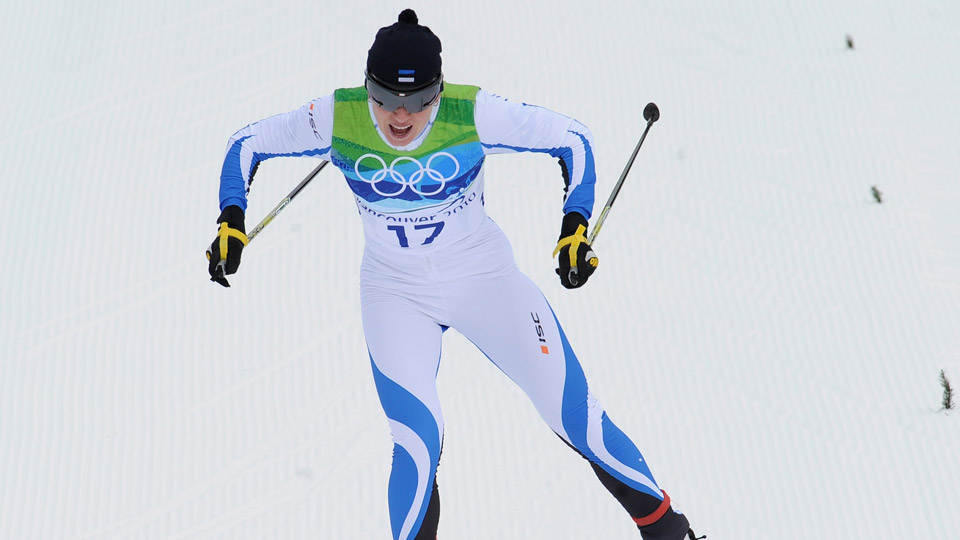 Kristina Smigun-Vahi won two gold medals for Estonia in Vancouver in 2010, becoming the country's most successful cross-country skier.