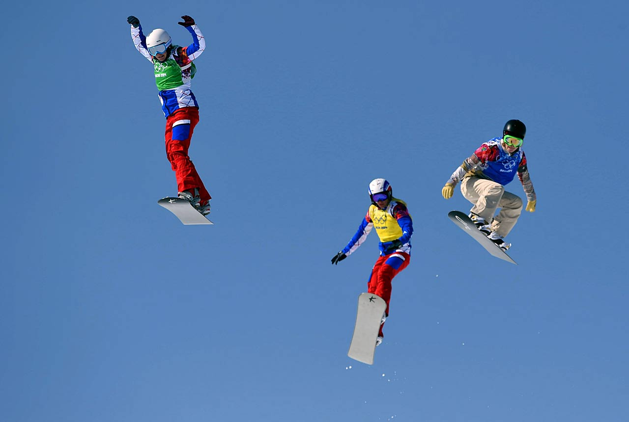 Several Olympians complained about the course because it had several spots where they were in the air for a long time.