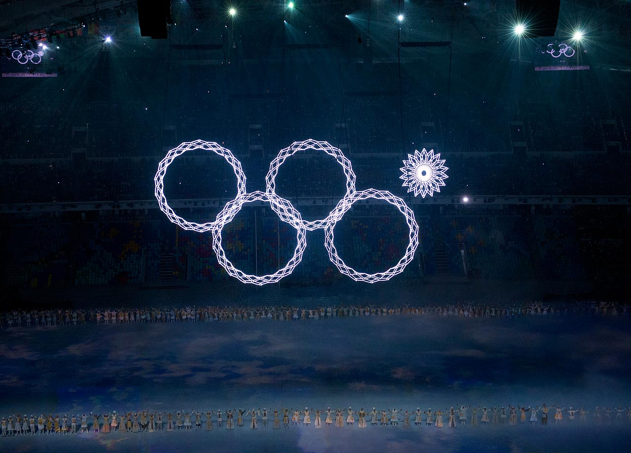 The final Olympics snowflake ring wouldn't expand during the opening ceremony, leading to countless jokes and memes.
