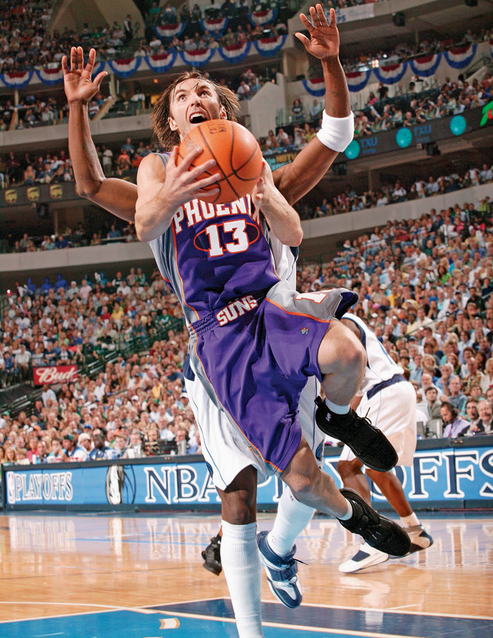 "Steve Nash retired March 22 after a brilliant 19-year career in which he was selected to eight NBA All-Star games and won two MVP awards. The point guard led the ""seven seconds or less"" Phoenix Suns to four straight playoff appearances from 2005-2008 and another in 2010 after much of the team's core has dissipated. Nash will be remembered for his highlight-reel passing and unselfish distribution, ending his career third all-time with 10,335 assists. Beyond awe-inspiring passing, Nash was one of the best shooters of all-time, with the best free throw percentage in NBA history and also the 10th-best 3-point percentage."