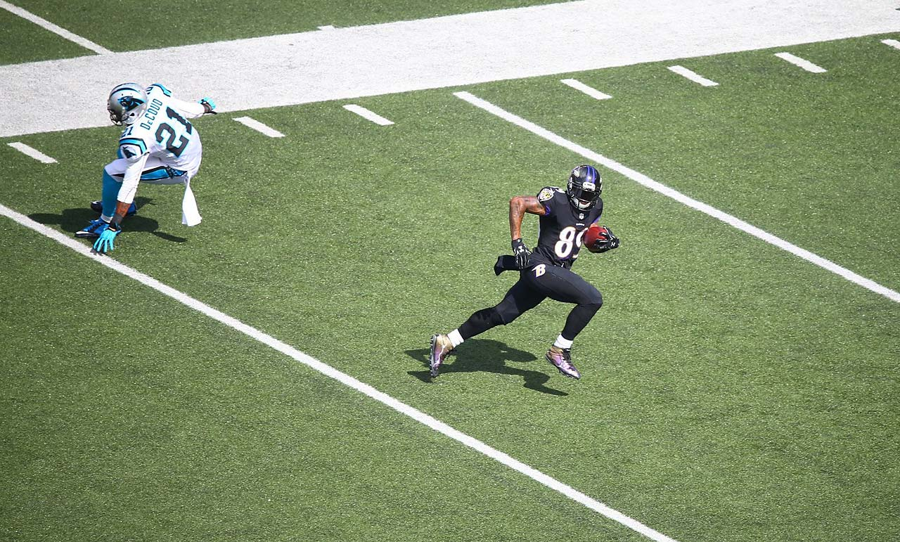 Smith wound up with seven catches for 139 yards.